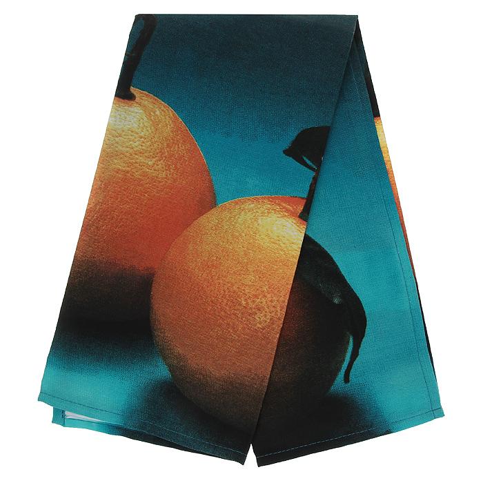 Полотенце кухонное Коллекция Апельсин, 50 х 70 смВетерок 2ГФПолотенце Коллекция, выполненное из полиэстера и хлопка, оформлено изображением апельсинов. Полотенце предназначено для использования на кухне и в столовой. С помощью специальной петельки полотенце можно вешать на крючок.Полотенце Коллекция Апельсин - отличный вариант для практичной и современной хозяйки.