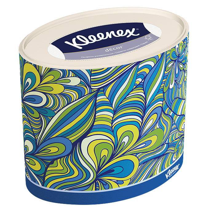 Салфетки универсальные Kleenex Decor, трехслойные, 21 х 20 см, 64 штKТ166Трехслойные, мягкие, гигиенические салфетки Kleenex Decor изготовлены из высококачественного, экологически чистого сырья - 100% целлюлозы. Салфетки обладают большой впитывающей способностью. Не вызывают аллергию, не раздражают чувствительную кожу. Благодаря уникальной мягкости, салфетки заботятся о вашей коже во время простуды. Просты и удобны в использовании. Применяются дома и в офисе, на работе и отдыхе. Для хранения салфеток предусмотрена специальная коробочка. Новый и уникальный формат салфеток на российском рынке - овал! Красивый и модный дизайн упаковки, соответствующий последним трендам в дизайне интерьера. Настоящий премиум продукт по форме и содержанию. Товар сертифицирован.
