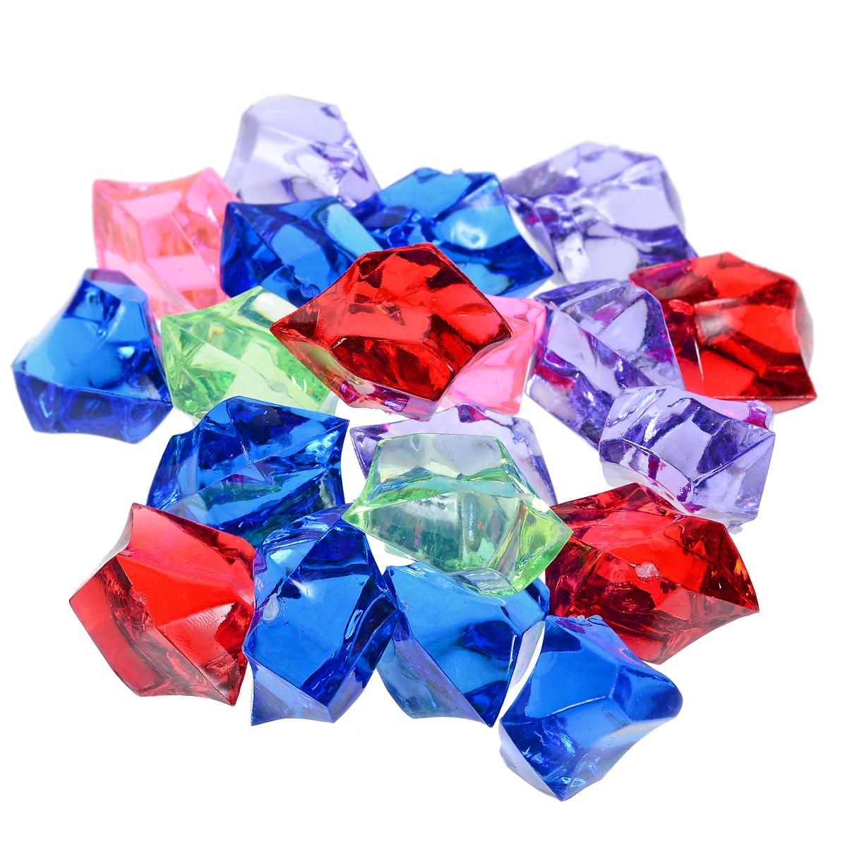 Набор декоративных кристаллов Большие камни микс, 70 г695804_62Набор декоративных кристаллов Большие камни микс, выполненный из пластика, замечательно подойдет для украшения вашего дома. Его можно использовать для создания индивидуального интерьера, а так же как наполнитель декоративных ваз. Декоративные кристаллы создают чувство уюта и улучшают настроение.Материал: пластик.