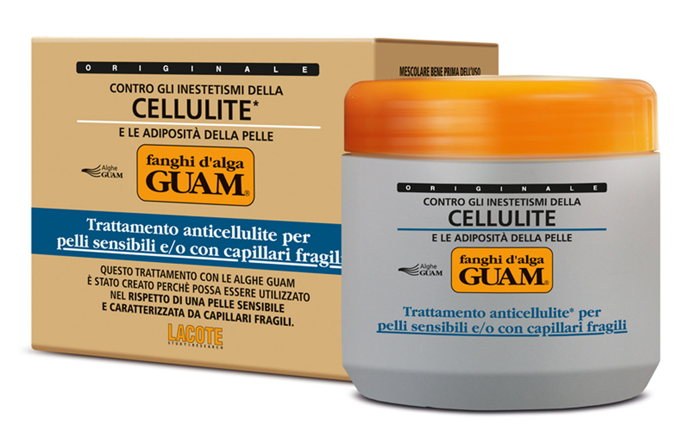 Guam Маска антицеллюлитная Fanchi Dalga для тела, для чувствительной кожи с хрупкими капиллярами, 500 мл616-102652Содержит инновационный липолитический комплекс Glicoxantine двойного действия: уменьшает локальные жировые отложения и устраняет целлюлит. Благодаря активным компонентам обладает антиоксидантным действием, усиливает микроциркуляцию, способствует выводу межклеточной жидкости, подтягивает и выравнивает кожный рельеф. Укрепляет сосуды и обеспечивает длительное увлажнение кожи. Идеальное средство для чувствительной кожи при проблемах с сосудами на ногах.Товар сертифицирован.