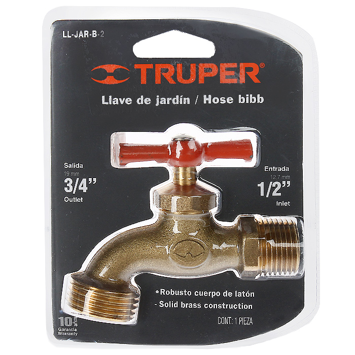 Кран сливной Truper, 1/2Nap200 (40)Сливной кран Truper изготовлен из латуни, благодаря чему имеет высокую прочность.
