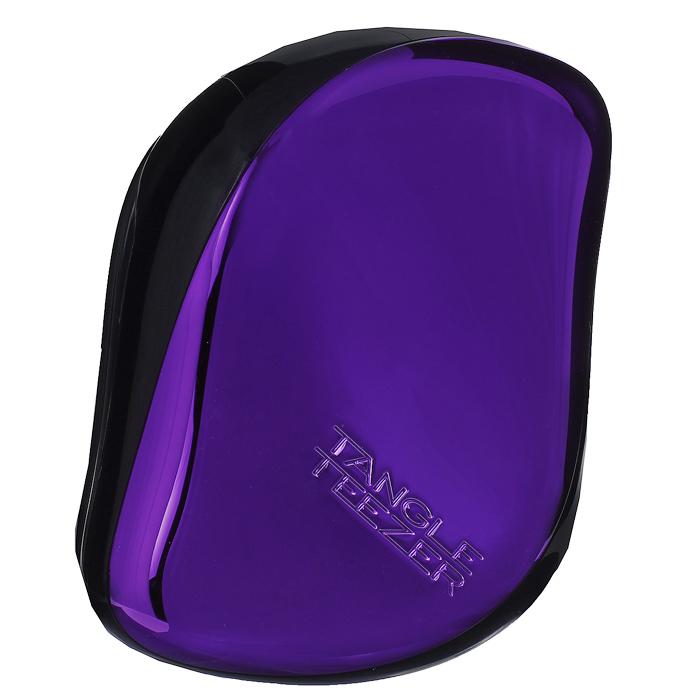 Tangle Teezer Расческа для волос Compact Styler. Purple DazzleCS-PC-010414Профессиональная распутывающая расческа идеально подходит для всех типов волос.Оригинальная форма зубчиков обеспечивает двойное действие и позволяет быстро и безболезненно расчесать влажные и сухие волосы.Благодаря эргономичному дизайну расческу удобно держать в руках, не опасаясь выскальзывания. Товар сертифицирован.