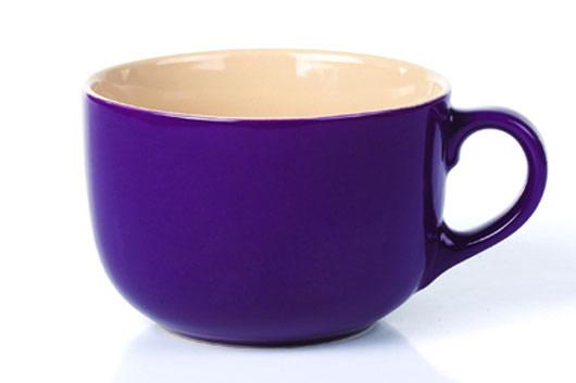 Бульонница Shenzhen Xin Tianli, цвет: фиолетовый, 600 млFS-91909Бульонница Shenzhen Xin Tianli, изготовленная из высококачественной керамики, прекрасно впишется в интерьер вашей кухни и станет достойным дополнением к кухонному инвентарю. Такая бульонница не только украсит ваш кухонный стол и подчеркнет прекрасный вкус хозяйки, но и станет отличным подарком.