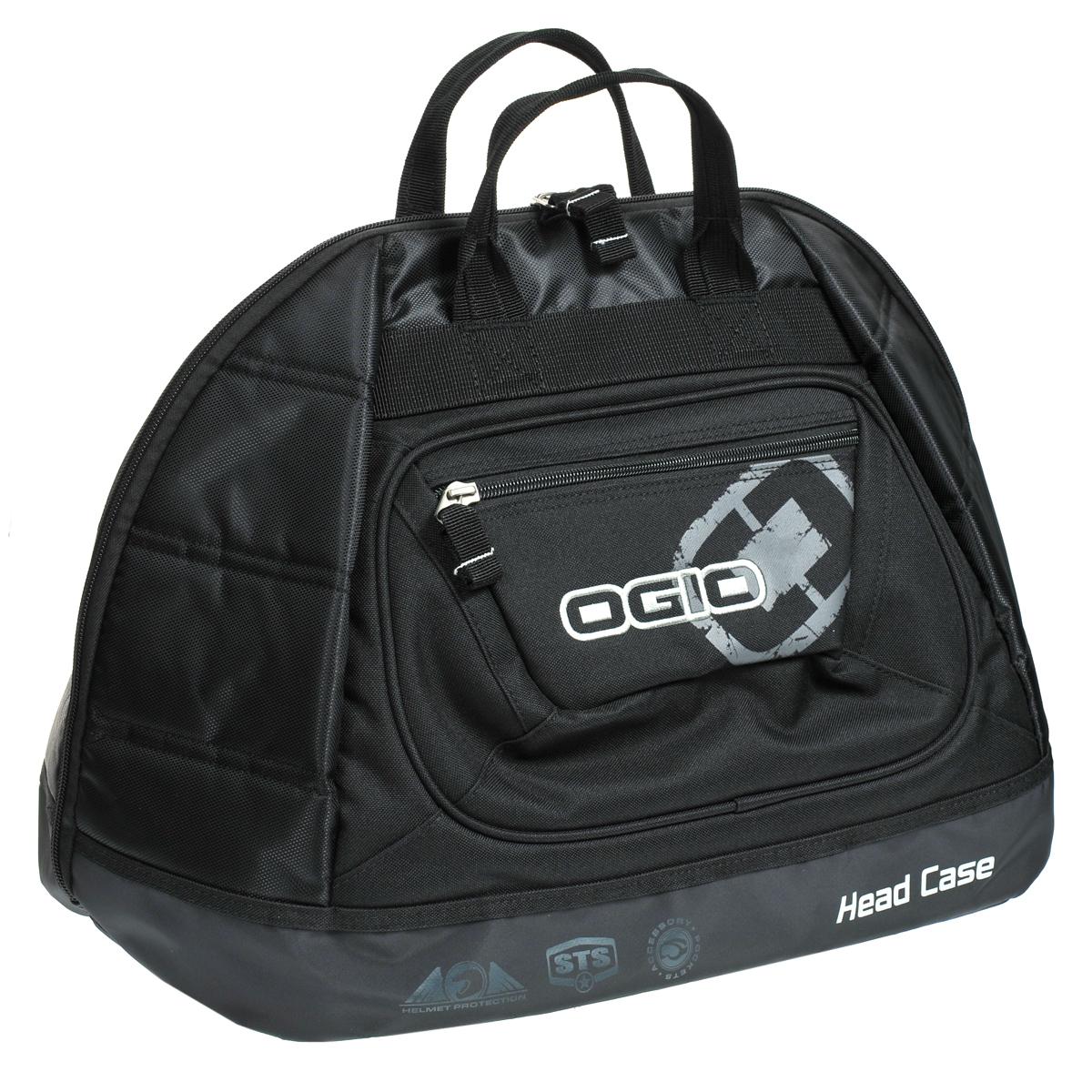 Сумка Ogio Head Case Stealth, цвет: черныйS76245В эту сумку прекрасно влезают все виды вело- мотошлемов со стабилизаторами и без них.Здесь имеются встроенные поролоновые панели IFOM и дополнительная текстильная подкладка обеспечивают надежную защиту. Более того, защитные карманы молний предотвращают появление царапин от зубцов молний, а вместительный карман обеспечит легкий доступ к очкам, линзам и отрывным пленкам. Кроме того имеется наружный карман на молнии для ценных вещей. Поддон долговечен, благодаря армированию. Инновационная технология iFOM представляет собой слой из поролона, который крепится к материалу внешнего покрытия. Этот слой не только обеспечивает надежную защиту находящихся внутри вещей, но также создает дополнительную структурную жесткость, придавая сумке элегантный и законченный внешний видКОМПЛЕКТАЦИЯВместительная сумка для шлема. Подходит для всех типов и размеров шлемов со стабилизаторами и без них.Встроенные поролоновые панели IFOM и дополнительная текстильная подкладка обеспечивают надежную защиту.Защитные карманы молний предотвращают появление царапин.Вместительный карман с легким доступом для очков, линз и отрывных пленок.Наружный карман на молнии для ценных вещей.Долговечный армированный поддон.Скрытая передняя панель для укладки.