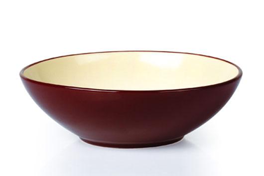 Салатник керамический, 580 мл, цвет: коричневыйL2857Салатник Rainbow выполнен с применением передовых технологий производства из высококлассных материалов. Посуда полностью соответствует самым строгим мировым стандартам в области безопасности и экологии. Благодаря своему дизайну он идеально впишется в интерьер любой кухни.