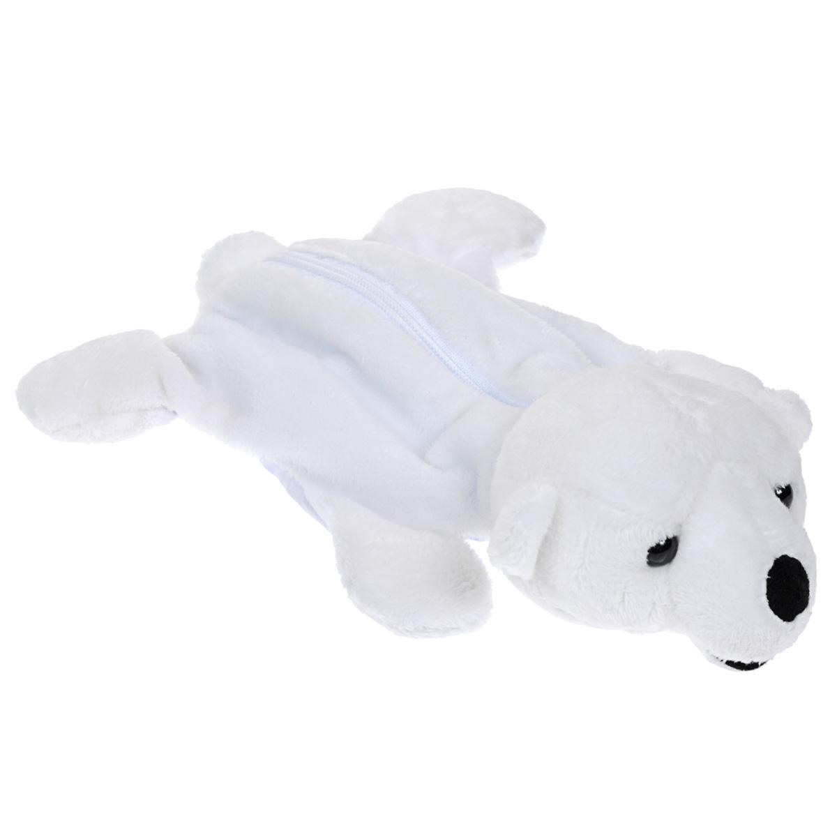 """Многоразовый гелевый компресс """"Белый медведь"""" предназначен как для охлаждающих, так и для тепловых процедур. Просто охладите или нагрейте пакет со специальным гелем и вложите его в чехол. Гель выдерживает глубокое замораживание. Чехол выполнен в виде симпатичного мягкого белого мишки с пластиковыми глазками, который привлечет внимание малыша, а используемые при его набивке специальные гранулы помогут ребенку развить мелкую моторику рук."""
