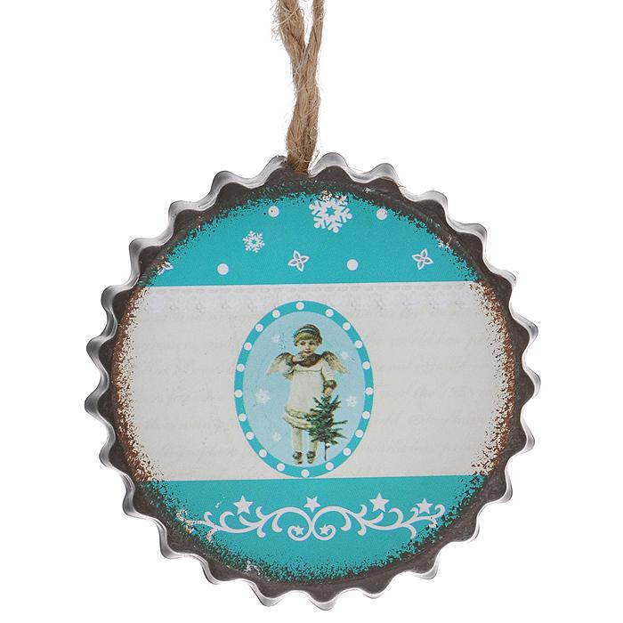 Новогоднее подвесное украшение Ангелок. 3529109840-20.000.00Оригинальное новогоднее украшение в виде ангела прекрасно подойдет для праздничного декора дома и новогодней ели. С помощью специальной петельки его можно повесить в любом понравившемся вам месте. Но, конечно, удачнее всего такая игрушка будет смотреться на праздничной елке. Елочная игрушка - символ Нового года и Рождества. Она несет в себе волшебство и красоту праздника. Создайте в своем доме атмосферу веселья и радости, украшая новогоднюю елку нарядными игрушками, которые будут из года в год накапливать теплоту воспоминаний.