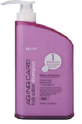Beaua Шампунь Aging Care, антивозрастной уход за волосами, 700 мл65808413Шампунь Beaua Aging Care- это антивозрастной уход за волосами, средство и способ продления, сохранения молодости волос и кожи головы, сделанный на основе маточного молочка. Маточное молочко содержит много витаминов, особенно группы В, аминокислот, высокоактивных веществ, которые характеризируют его как биокатализатор жизненных процессов. В молочке выявлено много ферментов (инвертаза, амилаза, глюкозооксидаза, холинестераза и другие), биоптерин, карбоновые и оксикарбоновые кислоты. Большое значение имеют макро- и микроэлементы, которые содержатся в сравнительно больших количествах (калий, натрий, кальций, фосфор, магний, железо, марганец, медь, никель, кобальт, кремний, хром, висмут). Благодаря такому богатому составу, шампунь на основе маточного молочка оздоравливает и омолаживает волосы, восстанавливая их жизненную силу и улучшает рост.Гидролизованные протеины шелка - это биологически активные вещества, которые получают методом гидролиза из шелковых волокон. Они улучшают внешний вид волос, обладают пленкообразующими свойствами, делают волосы послушными. Средство является природным кондиционером, укрепляет внешнюю структуру волоса, восстанавливает волос изнутри и питает корни, предотвращает ломкость, сечение волос. Товар сертифицирован.