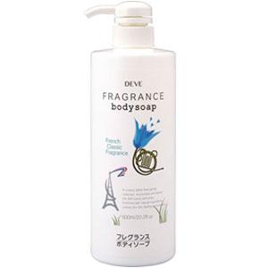 Deve Гель для душа French Classic Fragrance, ароматизированный, 600 мл017580Гель для душа Deve French Classic Fragrance- нежное жидкое средство, очищающее кожу, окутывая ее роскошным ароматом, который таит в себе энергию и радость молодости, волнует и завораживает. В основе геля лежит особая формула, которая делает кожу шелковистой и нежной, сохраняет ее естественную увлажненность. Классический французский аромат долгое время остается на коже и является неотъемлемой частью вашего образа. Начало парфюмерной композиции окутывает цветочной пылью с терпкими нотами бергамота, переходя в таинственный оттенок аромата полевых цветов. Шлейф аромата: ваниль, пачули подарит удивительную свежесть на весь день. При возникновении аллергических реакций на коже прекратите использование средства. Избегайте попадания в глаза.Товар сертифицирован.
