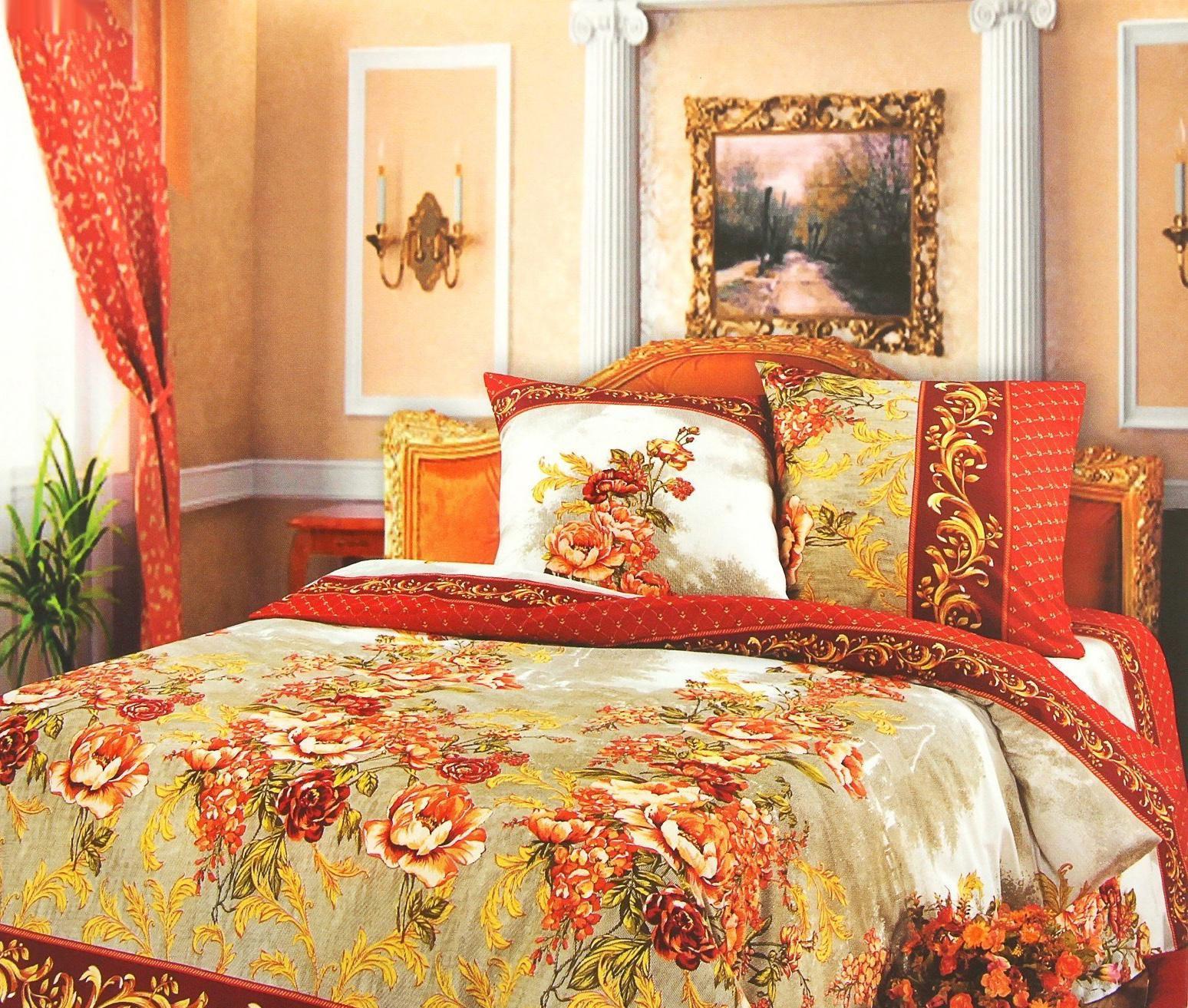 Комплект белья Арт Постель Гобелен (2-х спальный КПБ, бязь-люкс, наволочки 70х70), цвет: красный391602Комплект постельного белья Арт Постель Гобелен является экологически безопасным для всей семьи, так как выполнен из натурального хлопка. Комплект состоит из пододеяльника, простыни и двух наволочек. Постельное белье оформлено оригинальным рисунком и имеет изысканный внешний вид. Для производства постельного белья используются экологичные ткани высочайшего качества. Бязь - хлопчатобумажная плотная ткань полотняного переплетения. Отличается прочностью и стойкостью к многочисленным стиркам. Бязь считается одной из наиболее подходящих тканей, для производства постельного белья и пользуется в России большим спросом. Характеристики: Страна: Россия. Материал: бязь-люкс (100% хлопок). Размер упаковки: 36 см х 27 см х 6 см. В комплект входят: Пододеяльник - 1 шт. Размер: 217 см х 175 см. Простыня - 1 шт. Размер: 220 см х 200 см. Наволочка - 2 шт. Размер: 70 см х 70 см.