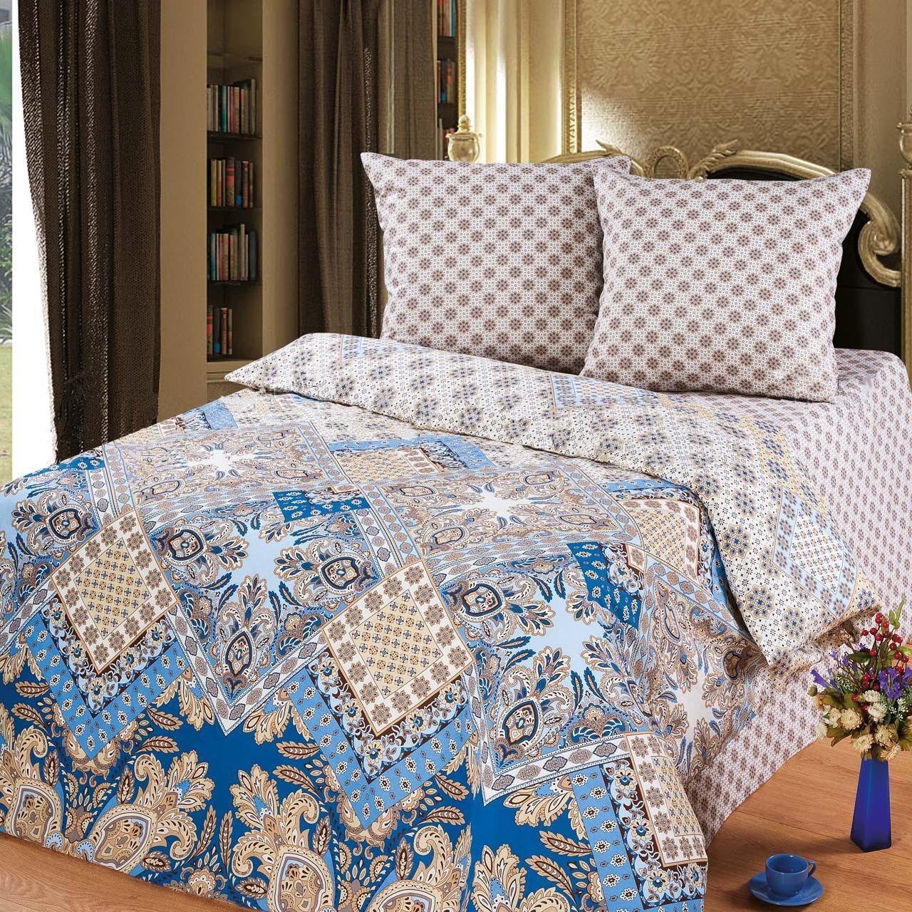 Комплект белья Арт Постель Флоренция (2-х спальный КПБ, бязь-люкс, наволочки 70х70)