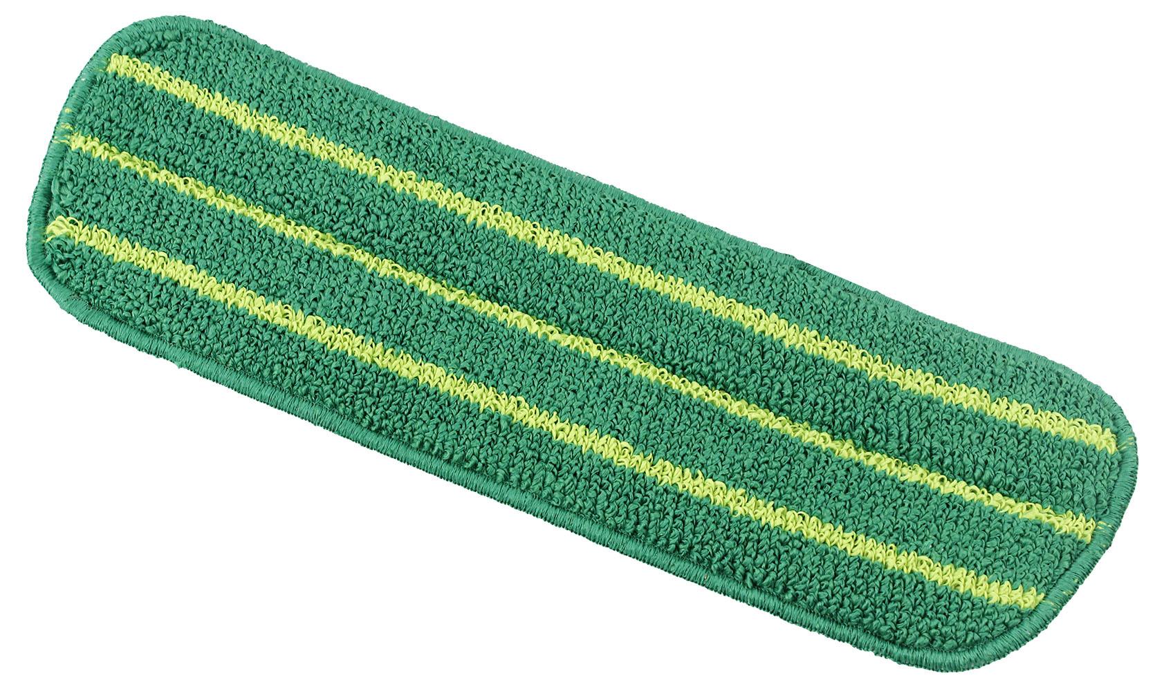 Насадка сменная Libman Freedom для швабры, ширина 40 см. 400385056Сменная насадка Libman Freedom, выполненная из микрофибры, станет незаменимым атрибутом любой уборки.Высокая очищающая сила активного волокна позволяет быстро и эффективно ухаживать за всеми видами полов. Насадка подходит для сухой и влажной уборки. Можно стирать в стиральной машине. Характеристики:Материал: микрофибра (100% полиэстер). Цвет: белый, зеленый. Размер насадки: 40 см х 13 см. Артикул: 4003.Компания Libman основана в 1896 году выходцем из Латвии Вильемом Либманом, задавшимся целью создавать высококачественные и долговечные изделия для уборки - веники, из сельскохозяйственных отходов и стеблей сорго. Унаследовавшие бизнес, сыновья Вильяма Либмана, не только сохранили компанию во время Великой депрессии, но укрепили и расширили ее. В 1980 году были введены новейшие технологии, позволившие компании стать одной из крупнейших в США по производству уборочного инвентаря.На сегодняшний день Libman - это компания с мировым именем, благодаря высокому качеству и разнообразию уборочного инвентаря, признана потребителями всего мира.