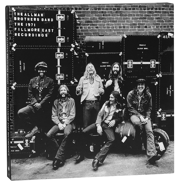 The Allman Brothers Band The Allman Brothers Band. The 1971 Fillmore East Recordings (4 LP) the band the band northern lights southern cross lp