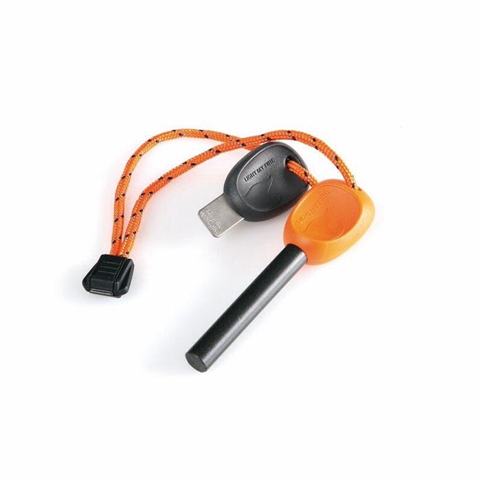Огниво FireSteel Army, цвет: оранжевый11103610Огниво FireSteel Army с пластиковой ручкой поможет развести огонь в любых погодных условиях. Температура вспышки составляет 3000°C. Благодаря такому огниву можно поджечь газовую горелку, сухую траву, тонкую бумагу, кору или сосновую стружку. Работает даже при намокании.Характеристики: Материал: ферросплав, пластик. Количество ударов: 12000. Длина огнива: 9 см. Размер пластины: 7 см х 2,5 см. Производитель: Швеция. Артикул: 11103610.