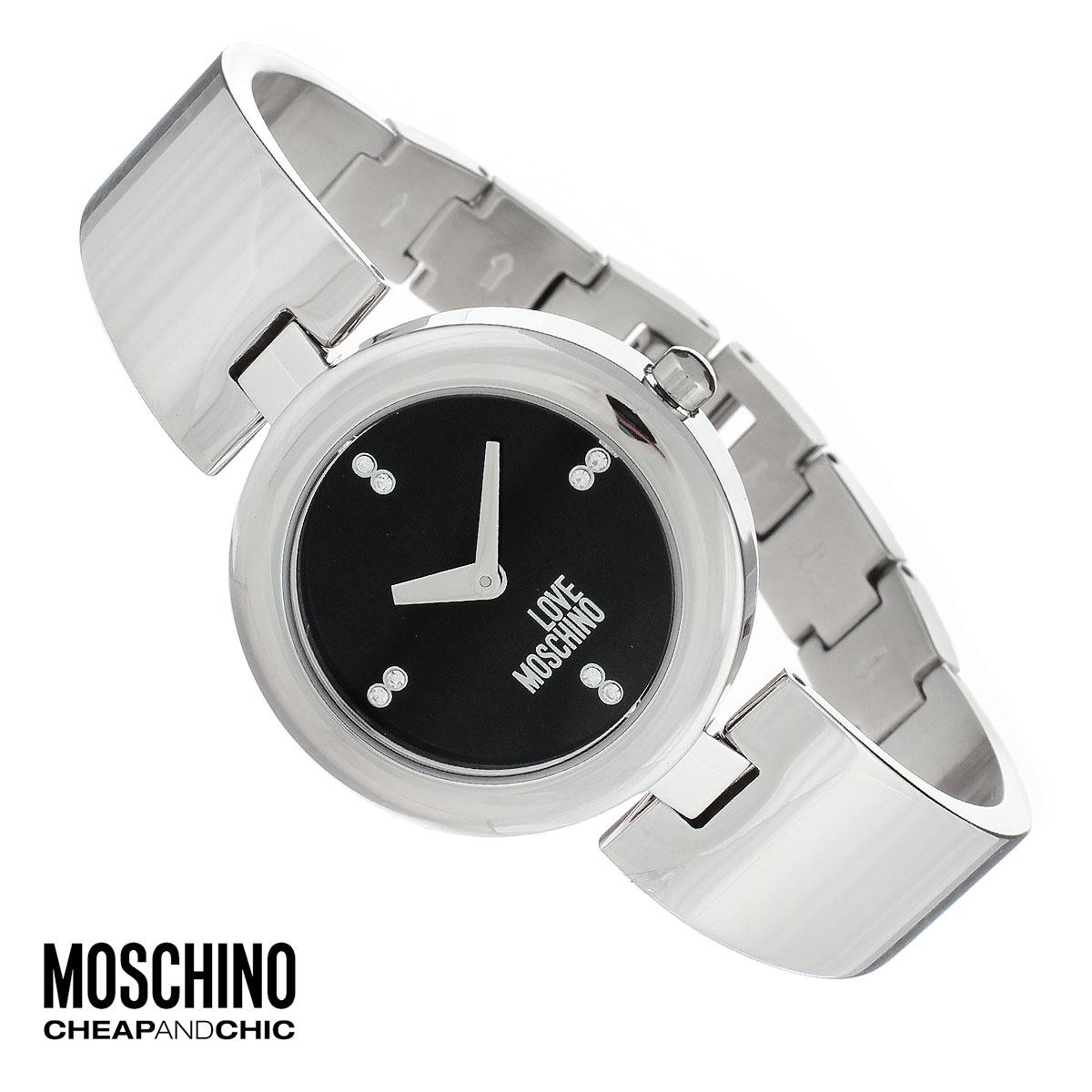 Часы женские наручные Moschino, цвет: серебристый. MW0422BM8434-58AEНаручные часы от известного итальянского бренда Moschino - это не только стильный и функциональный аксессуар, но и современные технологи, сочетающиеся с экстравагантным дизайном и индивидуальностью. Часы Moschino оснащены кварцевым механизмом. Корпус выполнен из высококачественной нержавеющей стали. Циферблат оформлен отметками из страз, надписью Love Moschino защищен минеральным стеклом. Часы имеют две стрелки - часовую и минутную. Браслет часов выполнен из нержавеющей стали и оснащен ювелирной застежкой.Часы упакованы в фирменную металлическую коробку с логотипом бренда. Часы Moschino благодаря своему уникальному дизайну отличаются от часов других марок своеобразными циферблатами, функциональностью, а также набором уникальных технических свойств.Каждой модели присуща легкая экстравагантность, самобытность и, безусловно, великолепный вкус. Характеристики: Диаметр циферблата: 2,5 см.Размер корпуса: 3,3 см х 4 см х 0,7 см.Длина браслета (с корпусом): 19 см.Ширина браслета: 1,5 см.