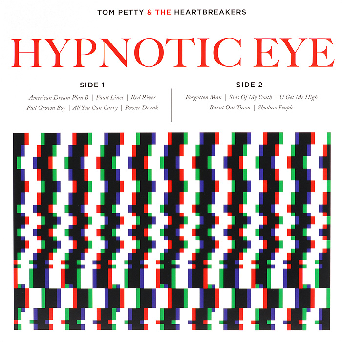 цена Tom Petty And The Heartbreakers Tom Pette And The Heartbreakers. Hypnotic Eye (LP) онлайн в 2017 году