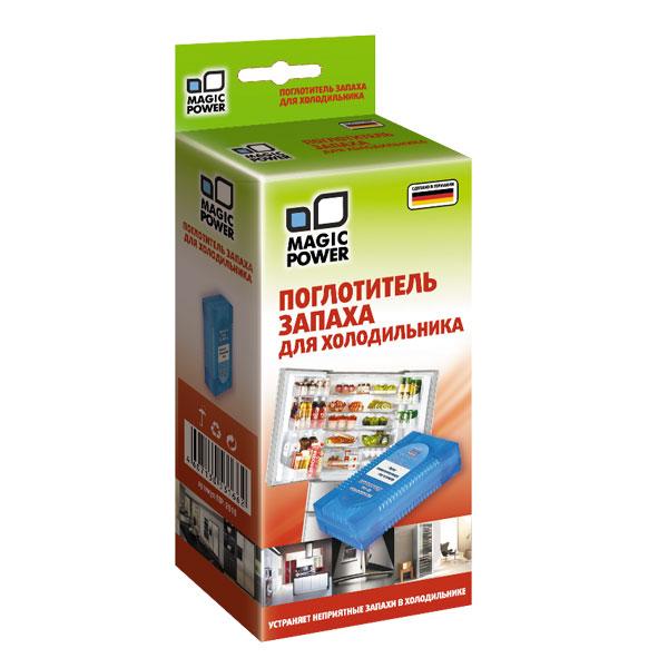 Поглотитель запаха для холодильника Magic Power, 78 г152050161Высокоэффективное средство для поглощения запахов в холодильнике Magic Power содержит гранулы активированного угля, являющегося лучшим из адсорбентов. Активированный уголь способен полностью поглощать неприятные запахи, даже таких продуктов, как чеснок, лук, сыр, рыба и т.д., не выделяя собственных запахов. Не воздействует на продукты, сохраняя их натуральные ароматы.