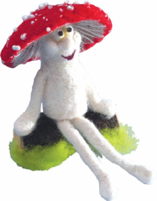 """Набор для валяния """"Лесовичок"""" поможет вам создать свой личный шедевр - оригинальную забавную игрушку, изготовленную из натуральной шерсти. В наборе есть все необходимое для создания собственного чуда: - шерсть для валяния (Новая Зеландия): 7 цветов, - игла для валяния: 2 шт, - бисер Preciosa Ornela (Чехия): 2 цвета, - мулине Madeira, - цветная схема, - инструкция на русском языке. Работа, сделанная своими руками, создаст особый уют и атмосферу в доме и долгие годы будет радовать вас и ваших близких. Ведь вы выполните ее с любовью! Размер готовой работы: 12 см х 9 см."""