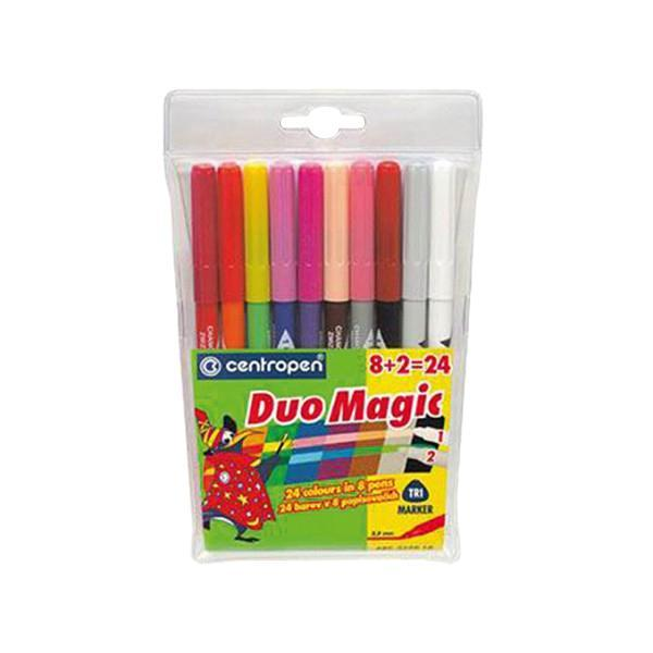 Набор перекрашивающих маркеров Duomagic,10 штFS-36054Характеристики: Длина маркера: 15,5 см. Диаметр наконечника: 3,5 мм. Ширина линии: 1,8 мм. Размер упаковки:11,5 см х 19 см х 1 см.
