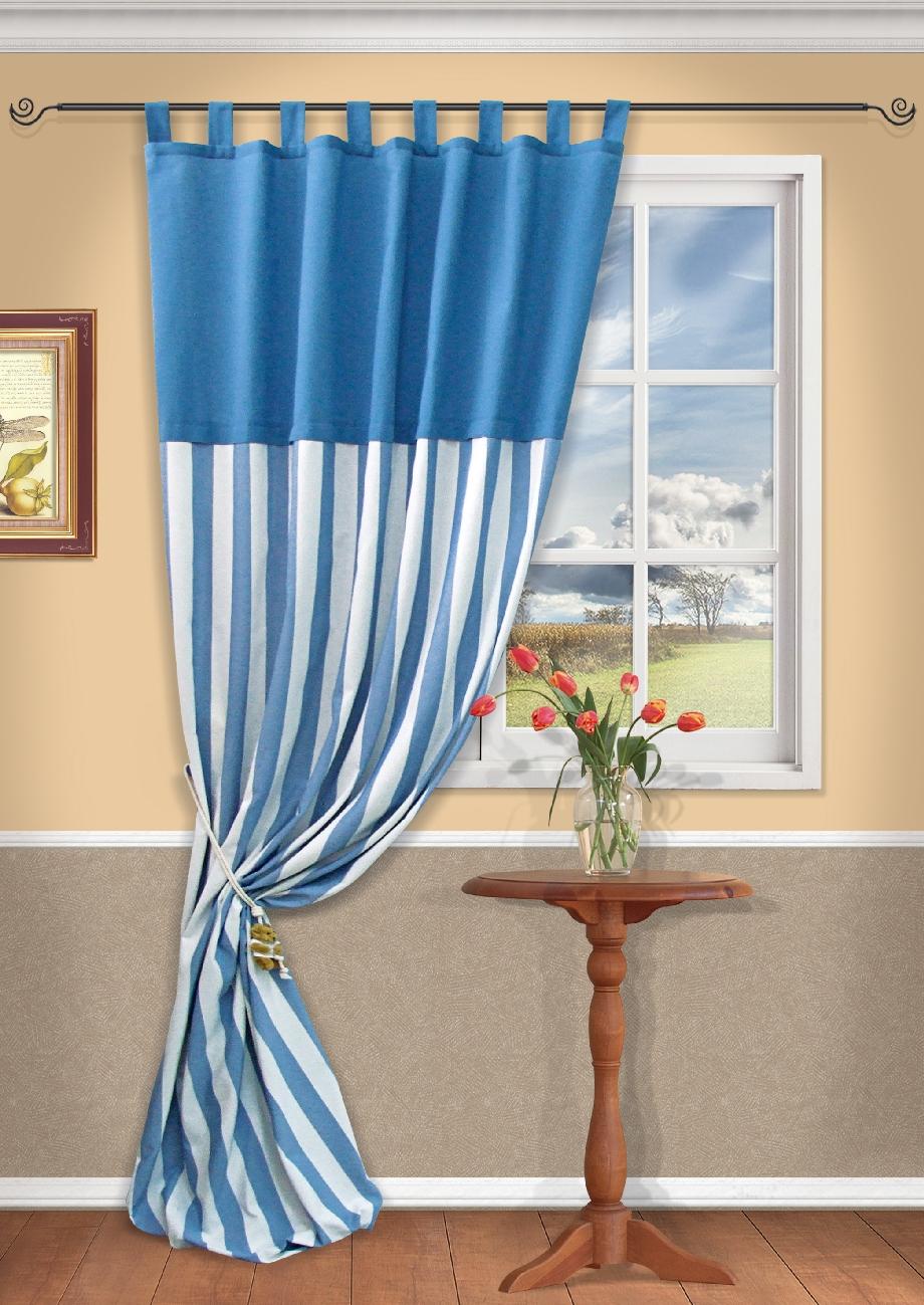 Штора Kauffort Бриксен, на петлях, цвет: голубой, высота 292 см. UN111104640SVC-300Роскошная портьерная штора Kauffort Бриксен выполнена из полиэстера, хлопка и акрила. Материал прочный, плотный и при этом мягкий на ощупь.Штора имеет оригинальную текстуру ткани и приятный дизайн, благодаря чему привлечет к себе внимание и органично впишется в интерьер помещения.Эта штора будет долгое время радовать вас и вашу семью!Штора крепится на карниз при помощи петель. Также имеется шторная лента, которая поможет красиво и равномерно задрапировать верх.В комплект входит: Штора - 1 шт. Размер (Ш х В): 148 см х 292 см.
