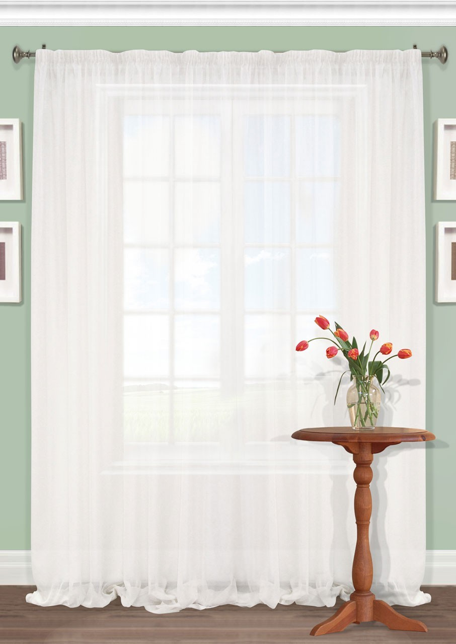 Штора Kauffort Акварель, на ленте, цвет: белый, высота 287 см. UN111250110S03301004Роскошная штора Kauffort Акварель выполнена из полиэстера. Материал плотный и мягкий на ощупь. Оригинальная текстура ткани и нежная цветовая гамма привлекут к себе внимание и органично впишутся в интерьер помещения. Эта штора будет долгое время радовать вас и вашу семью!Штора крепится на карниз при помощи ленты, которая поможет красиво и равномерно задрапировать верх.