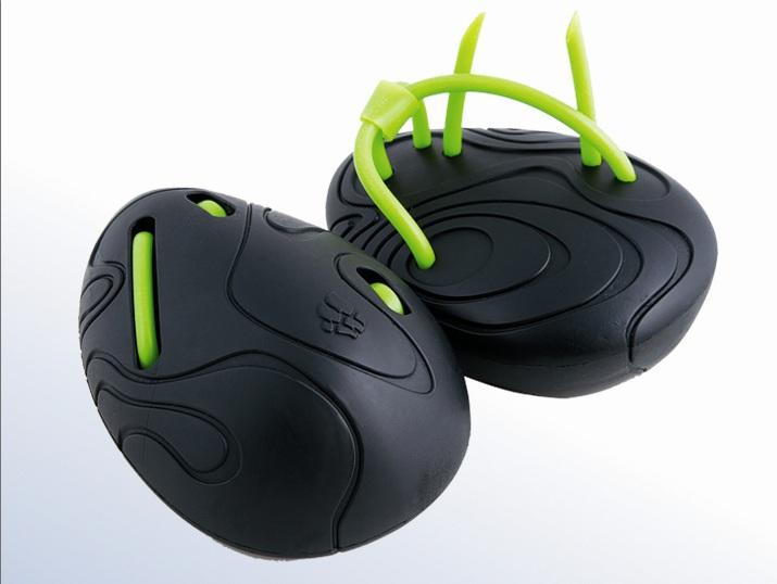 Антилопатки для плавания Mad Wave  Egg Trainer , цвет: черный, зеленый - Плавание