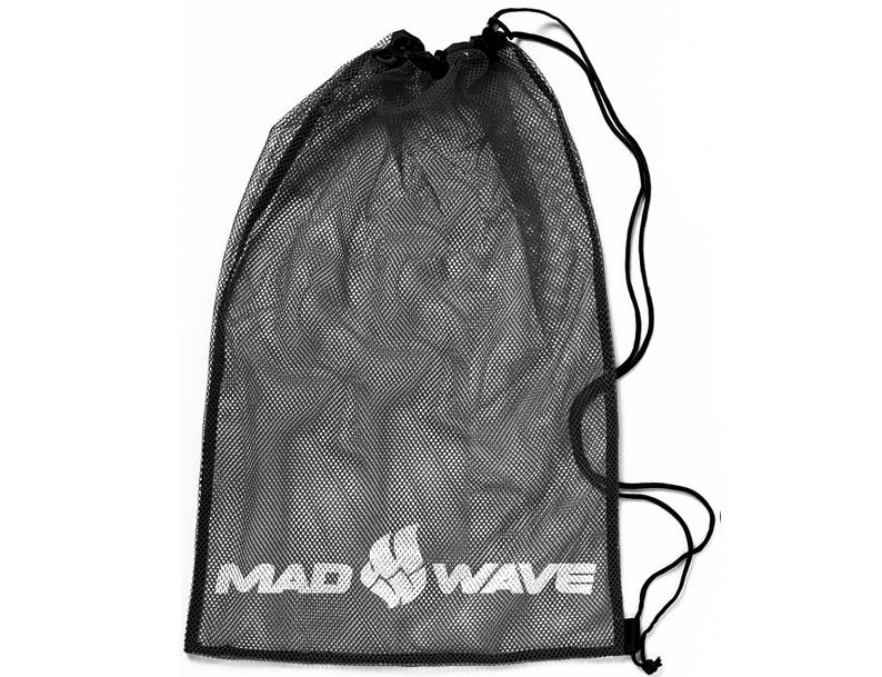 Мешок-сетка для инвентаря Mad Wave, цвет: черный, 65 см х 50 см