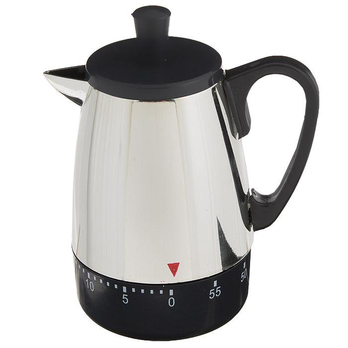 Таймер кухонный Чайник, на 60 минут0205ADКухонный таймер Чайник изготовлен из цветного пластика. Таймер выполнен в виде чайника. Максимальное время, на которое вы можете поставить таймер, составляет 60 минут. После того, как время истечет, таймер громко зазвенит. Оригинальный дизайн таймера украсит интерьер любой современной кухни, и теперь вы сможете без труда вскипятить молоко, отварить пельмени или вовремя вынуть из духовки аппетитный пирог.