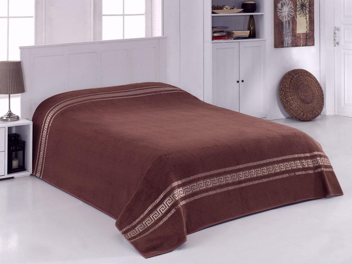 Простыня махровая Coronet Greece, цвет: коричневый, 160 х 220 смU210DFМягкая махровая простыня Coronet Greece, выполненная из натуральных бамбуковых волокон, удивит Вас блеском и мягкостью. Простыня дарит нежное шелковистое прикосновение, обладает легкостью и высокой гигроскопичностью. Сдержанный дизайн выглядит очень уютным и домашним, он создаст в Вашем доме волшебную атмосферу тепла и уюта. Махровая простыня Coronet Greece станет достойным выбором для вас и приятным подарком для Ваших близких.