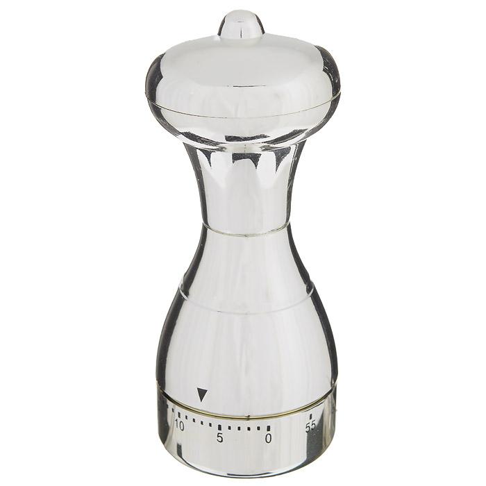 Таймер кухонный Перцемолка, на 60 минутRDF-450Кухонный таймер Перцемолка изготовлен из цветного пластика. Таймер выполнен в виде перцемолки. Максимальное время, на которое вы можете поставить таймер, составляет 60 минут. После того, как время истечет, таймер громко зазвенит. Оригинальный дизайн таймера украсит интерьер любой современной кухни, и теперь вы сможете без труда вскипятить молоко, отварить пельмени или вовремя вынуть из духовки аппетитный пирог.