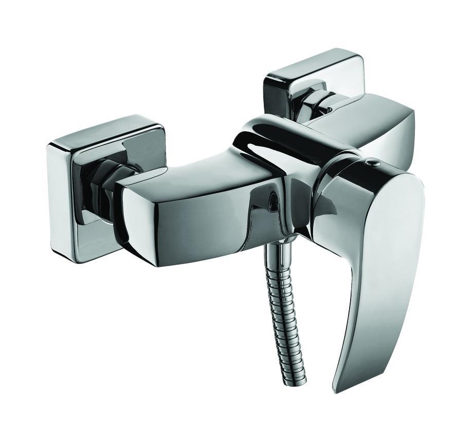 Смеситель для душа, YA33177C, Vane, комплектныйBL505Керамический картридж Kerox(Венгрия), диаметр 35 мм. В комплекте: гибкий шлангиз нержавеющей стали 1,5 мс системами Double Lock и Twist Free,настенный держатель для лейкис креплением, душевая лейка(1 режим: Rain), эксцентрикис отражателями. Материал: латунь,полиамид, стекловолокно, керамика, пластик, нержавеющая сталь