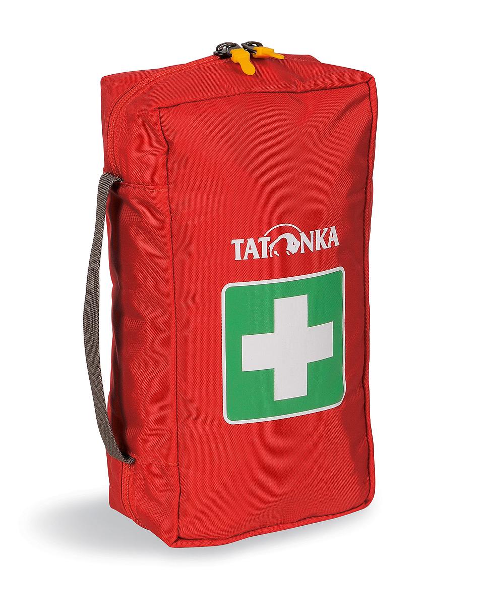 Сумка для медикаментов (аптечка) Tatonka First Aid L, цвет: красный2814.015Вместительная походная аптечка (без содержимого). Аптечка удобно раскладывается, имеет множество кармашков внутри, молнию по периметру и петли для крепления на пояс. Выполнена из прочного материала.