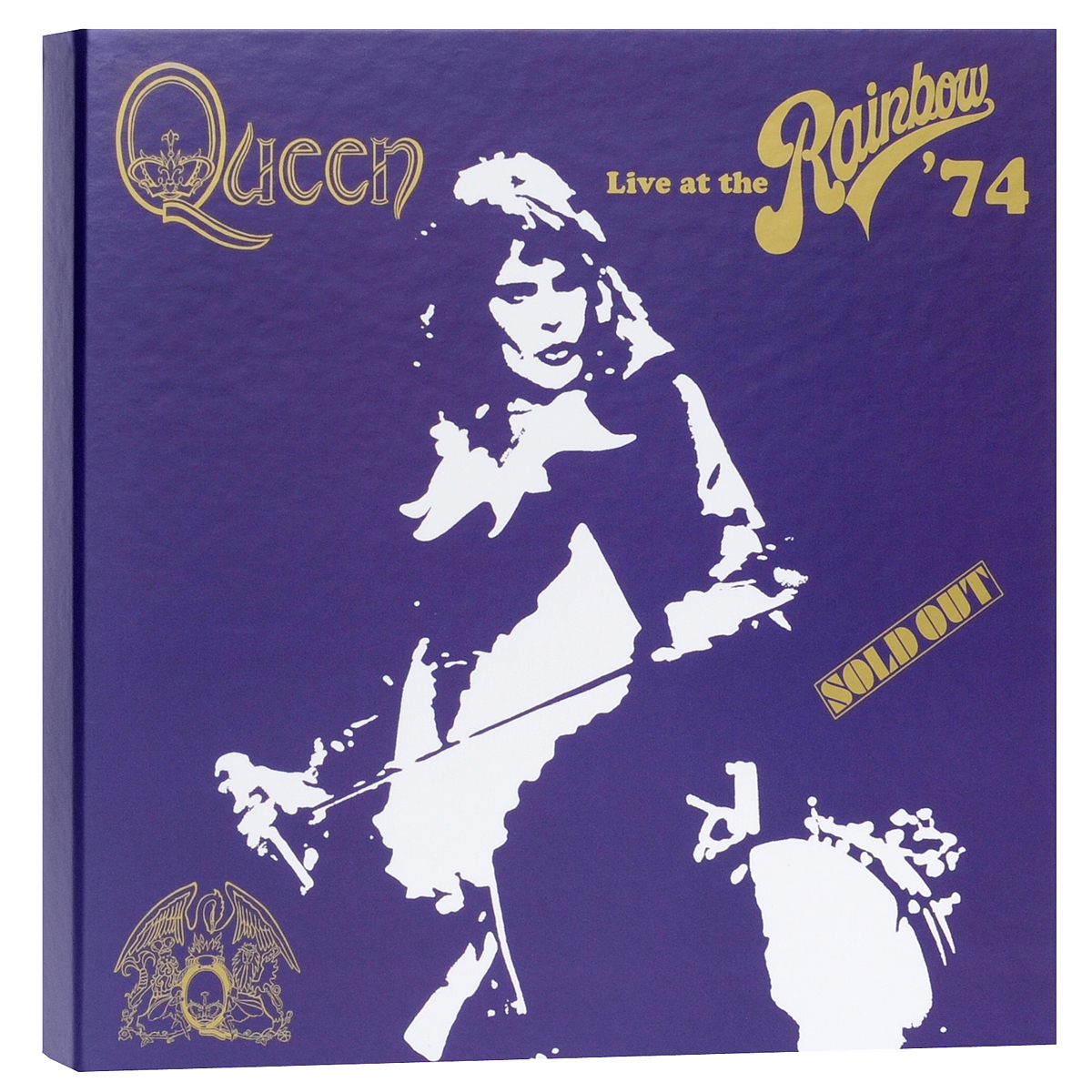 Queen Queen. Live At The Rainbow'74 (2 CD+ DVD+ Blu-ray) pantera pantera reinventing hell the best of pantera cd dvd