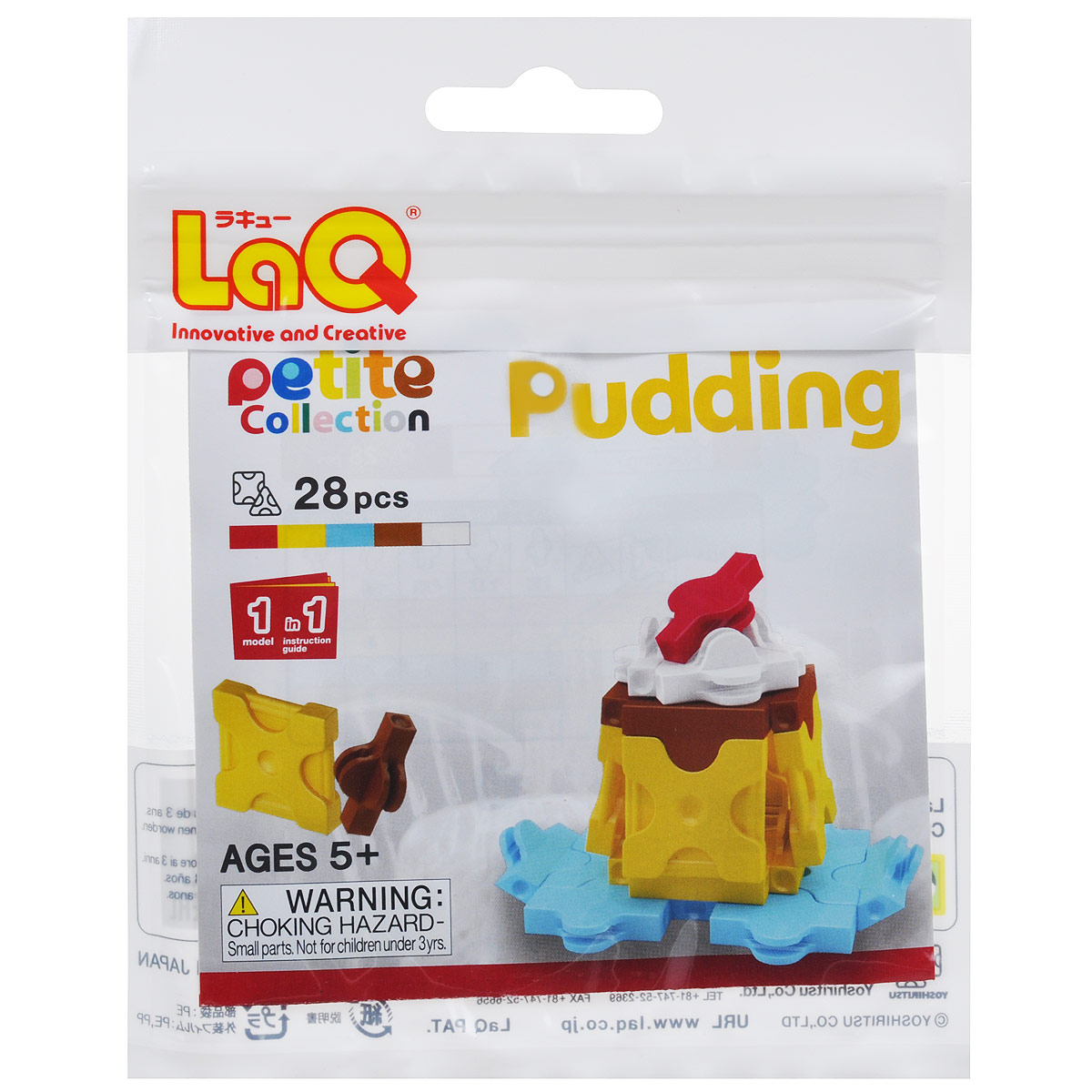 Конструктор LaQ Pudding, 28 элементов laq конструктор отзывы