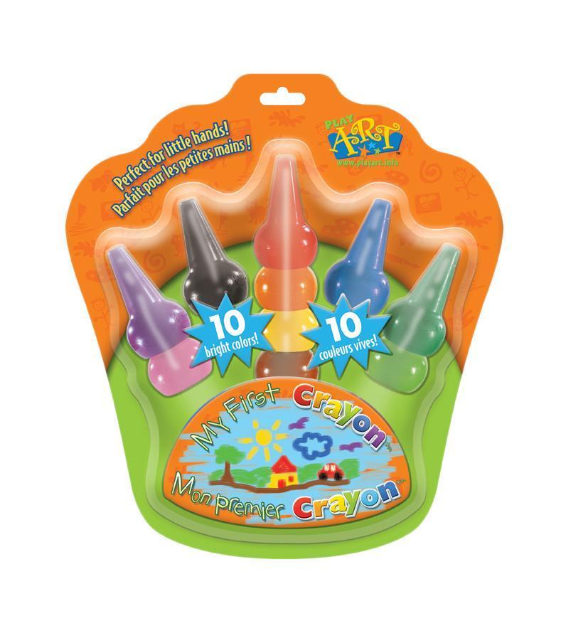 Набор восковых карандашей, надеваемых на пальчики, 10 шт023017Восковые карандаши - отличный вариант для развития детского творчества. Воск имеет яркий, устойчивый к выцветанию, насыщенный цвет. Карандаши не пачкаются, не ломаются, отличаются яркими и насыщенными цветами, позволяют проводить мягкие и ровные штрихи. Ими можно рисовать на бумаге любого типа (кроме лощеной), на ватмане, тонком и плотном картоне, а также на дереве и других шероховатых поверхностях. При необходимости, рисунок стирается резинкой. А особый дизайн, который позволяет надевать их прямо на пальчики, делает процесс рисования еще интереснее и необычнее! Восковые карандаши идеальны для детских ручек! Характеристики: Высота карандаша: 7,5 см. Размер упаковки: 21 см х 23 см х 4 см. Изготовитель: Корея.