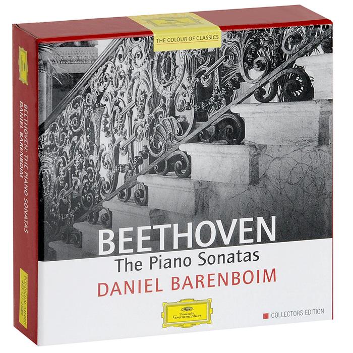 Дэниэл Баренбойм Daniel Barenboim. Beethoven. The Piano Sonatas (9 CD) иво погорелич alexander scriabin piano sonata no 2 franz liszt sonata in b minor ivo pogorelich