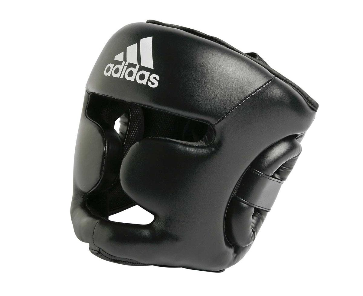 Шлем тренировочный Adidas Response Training, цвет: черный. adiBHG02. Размер SadiBHG02