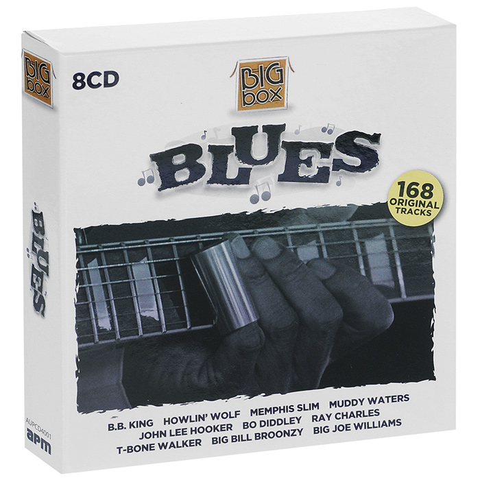 CD 1: Blues 01. Howlin'Wolf - Smokestack Lightning 02. B.B. King - Mr Pawnbroker 03. Freddy King -You've Cot To Love Her With Feeling 04. - Bobby 'Blue' Bland - Farther UpThe Road 05. Willie Mabon -The Seventh Son 06. Roosevelt Sykes - Night Time Is The Right Time 07. Smokey Hogg - Smokey's In Town 08. Memphis Slim - Every Day I Have The Blues (Nobody Loves Me) 09. Muddy Waters - I Can't Be Satisfied 10. Pee Wee Crayton - Blues After Hours 11. Big Bill Broonzy - Diggin' My Potatoes  12. Ethel Mae & Robert Nighthawk - Down The Line 13. Arthur 'Big Во / Crudup - That's All Right 14. Eddie CleanheacfVinson - Cleanhead Blues 15. Lead Belly - John Henry 16. Bill 'Jazz' Gillum -Take One More Chance Wth Me17. Stick McChee & His Buddies - Drinkin'Wne Spo-Dee-O-Dee 18. T-Bone Walker - Call It Stormy Monday 19. Son House - Walking Blues (Death Letter Blues) 20. Cecil Gant - We're Gonna Rock21. Louis Jordan - Caldonia Boogie CD 2: Blues 01. John Lee Hooker - Boom Boom 02. Little Walter - Juke 03. Elmore James - Dust My Broom 04. Guitar Slim - The Things That I Used To Do 05. Muddy Waters - Гт Your Hoochie Coochie Man 06. Slim Harpo - Гт A King Bee 07. Jimmy Rogers - My Last Meal 08. Josh White - Strange Fruit 09. Jimmy Witherspoon & Ben Webster - Cherry Red 10. Lowell Fulson - Reconsider Baby 11. Otis Rush - I Can't Quit You Baby 12. Wilbert Harrison - Kansas City 13. Rosco Cordon - Just A Little Bit 14. Roy Brown - Hard Luck Blues15. 'Big Mama' Thornton, Kansas City Bell & Orchestra - Hound Dog 16. Big Joe Wlliams - Highway 49 17. Blind Boy Fuller - You Got To Have Your Dollar 18. Ray Charles - Blues Before Sunrise 19. T-Bone Walker -T-Bone Blues 20. Robert Johnson - Traveling Rk/erside Blues 21. Bessie Smith - Nobody Knows You When You're Down and Out CD 3: Blues 01. Muddy Waters - Mannish Boy 02. Chuck Willis - С С Rider 03. Howfin'Wolf- Little Red Rooster 04. Bo Diddley - You Don't Love Me (You Don't Care) 05. B.B. King - Blues For Me 06. Freddy King -I'm Tore Down 07. Champion Jack Dupree - How Long Blues 08. Little Walter - My Babe 09. Smokey Hogg - Late Prowling Girl 10. Sonny Terry & Brownie McChee Po' Boy 11. Eddie 'Cleanheac' Vinson - Queen Bee Blues 12 Roosevelt Sykes - Boogie HonkyTonk 13. Louis Jordan - Pinetop's Boogie Woogie 14. Bill 'Jazz' Gillum - Take A Little Walk With Me 15. Big Joe Williams - Baby Please Don't Go 16. Sleepy John Estes - Working Man Blues 17. Sonny Boy Williamson - Good Morning Little Schoolgirl 18. Forrest City Joe - Special Delivery Man 19. T-Bone Walker - Mean Old World 20. Memphis Minnie - Chickasaw Train Blues (Low Down Dirty Thing) 21. Robert Johnson - Come On In My Kitchen CD 4: Blues 01. Howlin' Wolf - Spoonful 02. Elmore James - Shake Your Moneymaker 03. Little Milton - Losing Hand 04. B.B. King - Shake It Up And Go 05. Buddy Guy - Stone Crazy 06. Lightnin' Hopkins & Sonny Terry - So Sorry To Leave You 07. John Lee Hooker - Boogie Chillen'08. Magic Sam - All Your Love 09. Muddy Waters -You Shook Me 10. Otis Spann - Evil Ways 11 Wynoie Harris - Wnonie's Blues12. Percy Mayfield - Are You Out There 13. Memphis Slim - Messin' Around 14. Rufus Thomas - Decorate The Counter 15. Lead Bely - Matchbox Blues 16. Sonny Terry -Whoopin' The Blues 17. T-Bone Walker - Too Much Trouble Blues 18. Lonnie Johnson - Somebody's Cot To Co 19. Peetie Wheatstraw - Shake That Thing 20. Robert Johnson - Hellhound on My Trail 21. Mississippi John Hurt - An't Nobod/s Business CD 5: Blues 01. Howlin'Wolf - Evil (is Going On) 02. John Lee Hooker -I'm In The Mood03. Ray Charles - Sittin' On Top Of The World 04. Muddy Waters - Rollin' And Tumblin' 05. Little Junior Parker - Driving Wheel 06. Jimmy Reed - Baby What You Want Me To Do ? 07. Lightnin' Hopkins - Coffee House Blues 08. Percy Maylield - Please Send Me Someone To Love 09. Jimmy Rogers - Thafs Al Right 10. Otis Spann - Bad Condition 11. Champion Jack Dupree - Goin' Down Slow 12. Eddie Boyd - Cool Kind Treatment 13. Little Walter - Blues With A Feeling 14. Memphis Slim - Slim's Blues 15. Sonny Terry & Brownie McGhee - Bad Blood 16. T-Bone Walker - Call It Stormy Monday But Tuesday Is Just As Bad 17. Tampa Red - It Hurts Me Too 18. Louis Jordan - Let The Good Times Roll 19. Blind Boy Fuller - Homesick Blues 20. Robert Petway - Catfish Blues 21. Robert Johnson - Crossroad Blues CD 6: Blues 01. Freddy King - Hide Away 02. Otis Rush - I'm Satisfied 03. BB. King - Sweet Little Angel 04. Lightnin' Hopkins - Worried Life Blues 05. J.B. Lenoir - Mama, Your Daughter Is Going To Miss Me 06. Junior Wells -Two Headed Woman07. Muddy Waters - I'm Ready 08. Howlin' Wolf - Back Door Man 09. John Lee Hooker - Crawling King Snake Blues 10. Jimmy Wtherspoon - Spoon's Blues 11. Little Walter - Boom Boom Out Co The Lights 12. Eddie Boyd - Five Long Years 13. Sonny Boy Williamson - Eyesight To The Blind 14. Jimmy McCracklin - Up And Down Blues 15. Roosevelt Sykes - High As A Georgia Pine 16. Wynonie Harris - Whiskey And Jelly-Roll Blues 17. Big Maceo - I Got the Blues 18. Tampa Red - Anna Lou Blues 19. Peetie Wheatstraw - Peetie Wheatstraw Stomp 20. Robert Johnson - Stop Breakin' Down Blues 21. Memphis Jug Band - On The Road Again CD 7: Blues 01. Elmore James - Look On Yonder Wall 02. Howlin' Wolf-Wang Dang Doodle 03. Little Milton - So Mean to Me 04. B.B. King - My Own Fault 05. John Lee Hooker - Dimples 06. Muddy Waters & Ernest Crawford - Rolling Stone 07. Memphis Slim - For a Day 08. Amos Milburn - One Scotch, One Bourbon, One Beer09. Jimmy McCracklin - Beer Drinkin' Woman 10. Eddie Boyd - Third Degree 11. Big Joe Turner - Trouble In Mind 12. J.B. Lenoir - Mama Talk To Your Daughter 13. Jimmy Rogers - Walking By Myself 14. Josh White -ТВ. Blues15. Louis Jordan & His Tympany Five - Early In The Mornin' 16. Robert Nighthawk - Six Three О 17. Lead Belly - Salty Dog  16. Pee Wee Crayton - Central Avenue Blues 19. T-Bone Walker - I'm Still In Love With You 20. Sleepy John Estes - Special Agent 21. Robert Johnson - Sweet Home Chicago CD 8: Blues 01. Muddy Waters - Cot My Mojo Working 02. Jimmy Reed - Big Boss Man 03. Guitar Slim - Bad Luck Blues 04. Arthur 'Big Во/ Crudup - Rock Me Mama 05. Big Bill Broonzy - How Long Blues 06. Howiin' Wolf - Forty Four 07. Little Junior Parker - Sweet Home Chicago08. Elmore James -The Sky is Crying 09. Rufus Thomas- Night Workin' Blues 10. Sonny Terry & Brownie McGhee - Mean Old Frisco 11. Pee Wee Crayton - Texas Hop 12. Big Maceo - Big Road Blues 13. Jazz Cillum - Key To The Highway14. Jimmy Wtherspoon - When I've Been Drinking 15. Junior Wells And Earl Hooker - Messin' With The Kid16, Johnny Moores Three Blazers feat Charles Brown - Driftin' Blues 17. Lonnie Johnson - What A Woman 16. Percy Mayfield & Joy Hamilton - Sugar Mama - Peachy Papa 19. Robert Lockwood Jnr - Take A Little Walk With Me 20. Memphis Minnie - Ice Man (Come On Up) 21. Tampa Red - Sugar Mama Blues