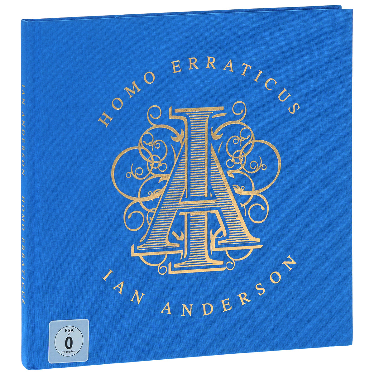 Иэн Андерсон Ian Anderson. Homo Erraticus (2CD+2DVD) lebeau ian rees gareth language leader 2nd ed elementary coursebook with myenglishlab