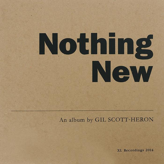 Джил Скотт-Хирон Gil Scott-Heron. Nothing New (LP)