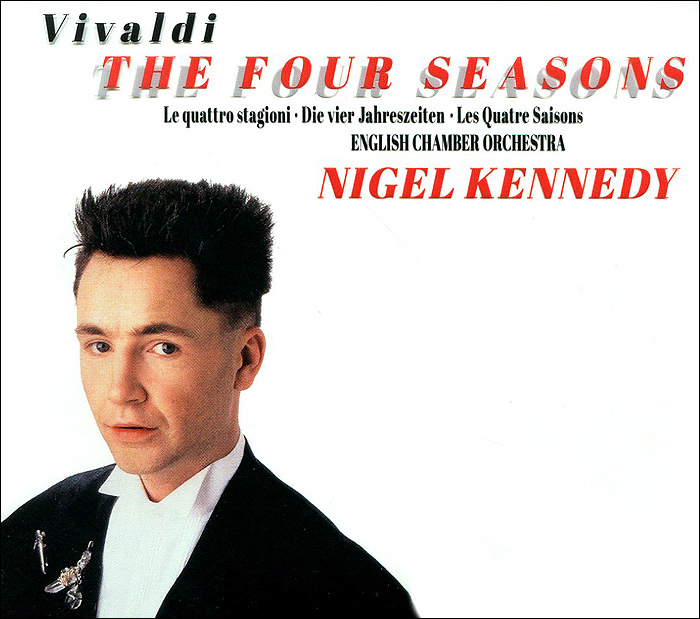 Нейджел Кеннеди Nigel Kennedy. Vivaldy: The Four Seasons (CD + DVD) пудра минеральная gosh