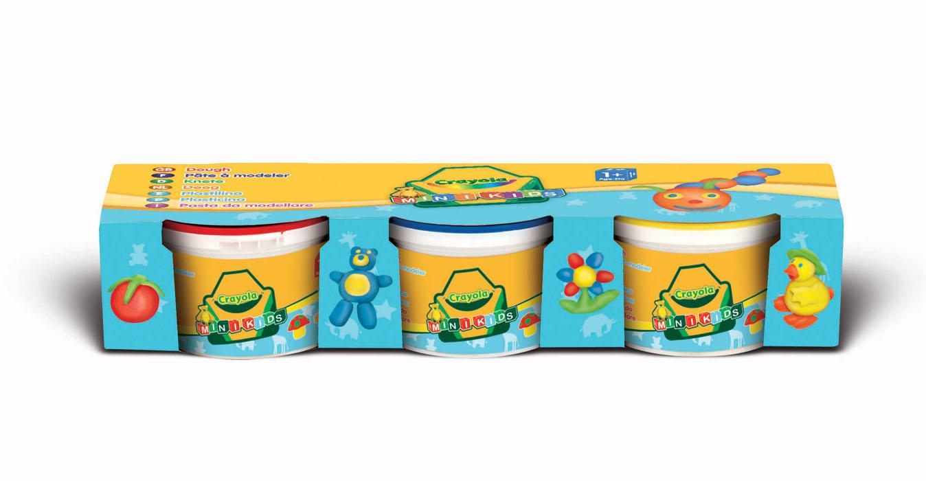 Пластилин Crayola Beginnings, 3 цвета7940 CМягкий пластилин Crayola Beginnings, предназначенный для лепки и моделирования, поможет малышу развить творческие способности, воображение и мелкую моторику рук. Пластилин обладает отличными пластичными свойствами, легко мнется, не липнет к рукам и не имеет запаха. В набор входит пластилин трех цветов: желтого, синего и красного. Пластилин каждого цвета хранится в отдельной пластиковой баночке.Лепка из пластилина - необычайно занимательный процесс не только для детей, но и для взрослых. 3 баночки с пластилином.