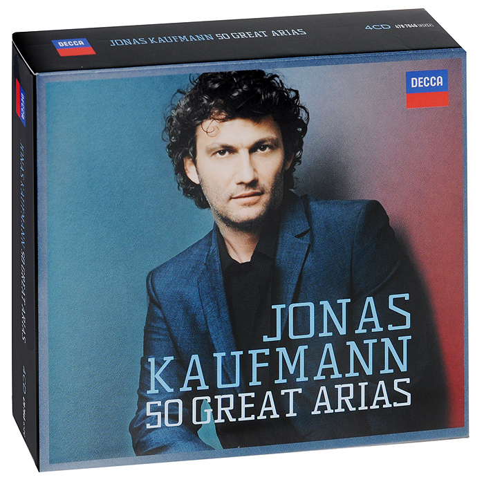 Йонас Кауфманн,Prague Philharmonic Orchestra Jonas Kaufmann. 50 Great Arias (4 CD) би 2 – prague metropolitan symphonic orchestra vol 2 cd