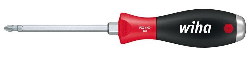 Отвертка SoftFinish под ключ ударная PZ2x100 Wiha 0324680621Отвертка SoftFinish имеет сплошное шестигранное жало с шестигранником под гаечный ключ, массивный стальной набалдашник. Наконечник Wiha ChromTop гарантирует максимальное соответствие размерности. Жало выполнено из высококачественной хром-ванадий-молибденовой стали полной закалки, матовое хромирование. Эргономичная многокомпонентная рукоятка Wiha SoftFinish с защитой от скатывания.Общая длина отвертки: 21,5 см.Длина жала: 10 см.Размер ручки: 11,5 см х 3 см х 3 см.