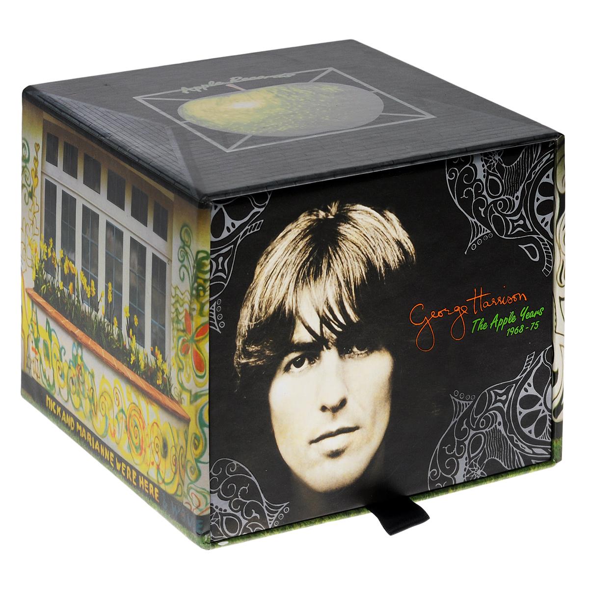 Джордж Харрисон George Harrison. The Apple Years (7 CD + DVD) george harrison george harrison dark horse
