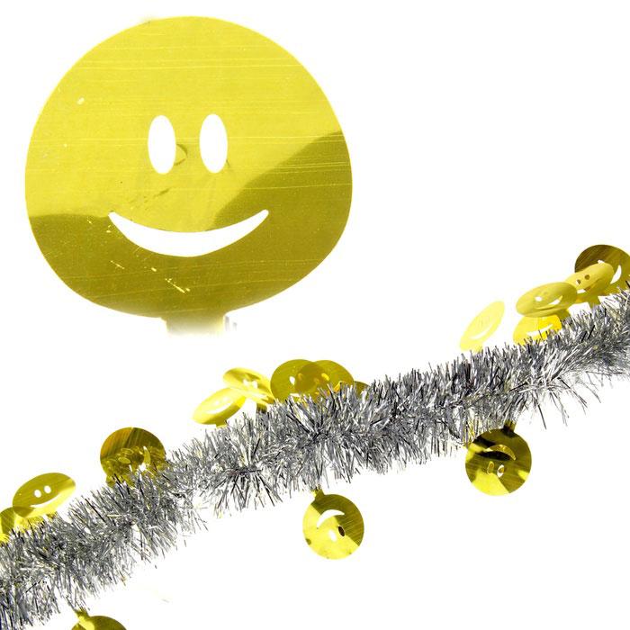 Мишура новогодняя Sima-land, цвет: серебристый, золотистый, диаметр 5 см, длина 2 м. 279384C0038550Мишура новогодняя Sima-land, выполненная из двухцветной фольги, поможет вам украсить свой дом к предстоящим праздникам. Мишура армирована, то есть имеет проволоку внутри и способна сохранять приданную ей форму.Новогодняя елка с таким украшением станет еще наряднее. Новогодней мишурой можно украсить все, что угодно - елку, квартиру, дачу, офис - как внутри, так и снаружи. Можно сложить новогодние поздравления, буквы и цифры, мишурой можно украсить и дополнить гирлянды, можно выделить дверные колонны, оплести дверные проемы. Коллекция декоративных украшений из серии Зимнее волшебство принесет в ваш дом ни с чем несравнимое ощущение праздника! Создайте в своем доме атмосферу тепла, веселья и радости, украшая его всей семьей.