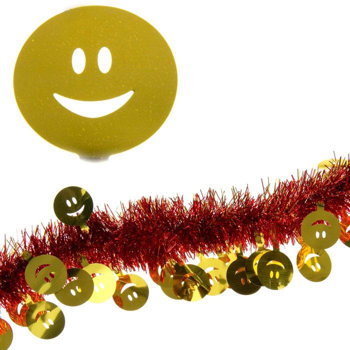 Мишура новогодняя Sima-land, цвет: красный, золотистый, диаметр 7 см, длина 2 м. 27938535081Мишура новогодняя Sima-land, выполненная из двухцветной фольги, поможет вам украсить свой дом к предстоящим праздникам. Мишура армирована, то есть имеет проволоку внутри и способна сохранять приданную ей форму.Новогодняя елка с таким украшением станет еще наряднее. Новогодней мишурой можно украсить все, что угодно - елку, квартиру, дачу, офис - как внутри, так и снаружи. Можно сложить новогодние поздравления, буквы и цифры, мишурой можно украсить и дополнить гирлянды, можно выделить дверные колонны, оплести дверные проемы. Коллекция декоративных украшений из серии Зимнее волшебство принесет в ваш дом ни с чем несравнимое ощущение праздника! Создайте в своем доме атмосферу тепла, веселья и радости, украшая его всей семьей.