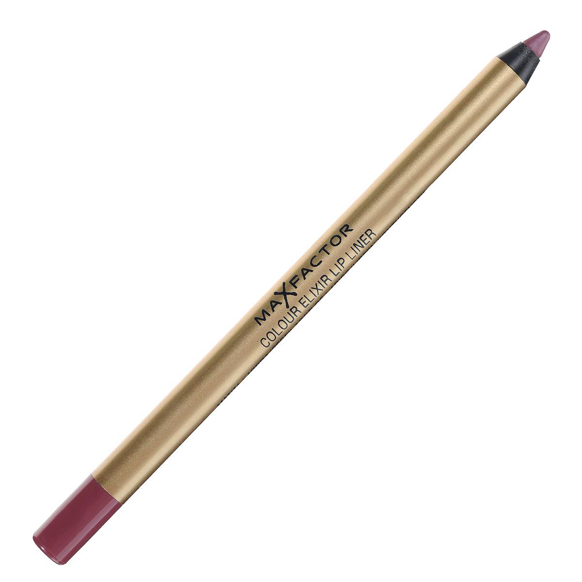 Max Factor Карандаш для губ Colour Elixir Lip Liner, тон №04 pink princess, цвет: розовыйA7861156Секрет эффектного макияжа губ - правильный карандаш. Он мягко касается губ и рисует точную линию, подчеркивая контур и одновременно ухаживая за губами. Карандаш для губ Colour Elixir подчеркивает твои губы, придавая им форму. - Роскошный цвет и увлажнение для мягких и гладких губ. - Оттенки подходят к палитре помады Colour Elixir. - Легко наносится.1. Выбирай карандаш на один тон темнее твоей помады 2. Наточи карандаш и смягчи кончик салфеткой 3. Подведи губы в уголках, дугу Купидона и середину нижней губы, затем соедини линии 4. Нанеси несколько легких штрихов на губы, чтобы помада держалась дольше.