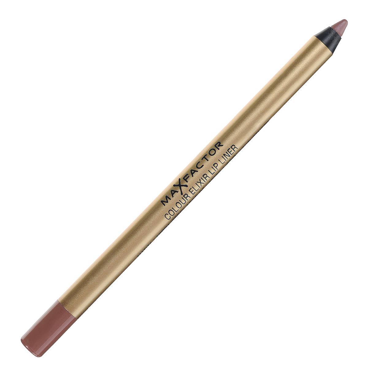 Max Factor Карандаш для губ Colour Elixir Lip Liner, тон №14 brown n nude, цвет: коричневый02-1159-000009Секрет эффектного макияжа губ - правильный карандаш. Он мягко касается губ и рисует точную линию, подчеркивая контур и одновременно ухаживая за губами. Карандаш для губ Colour Elixir подчеркивает твои губы, придавая им форму. - Роскошный цвет и увлажнение для мягких и гладких губ. - Оттенки подходят к палитре помады Colour Elixir. - Легко наносится.1. Выбирай карандаш на один тон темнее твоей помады 2. Наточи карандаш и смягчи кончик салфеткой 3. Подведи губы в уголках, дугу Купидона и середину нижней губы, затем соедини линии 4. Нанеси несколько легких штрихов на губы, чтобы помада держалась дольше.