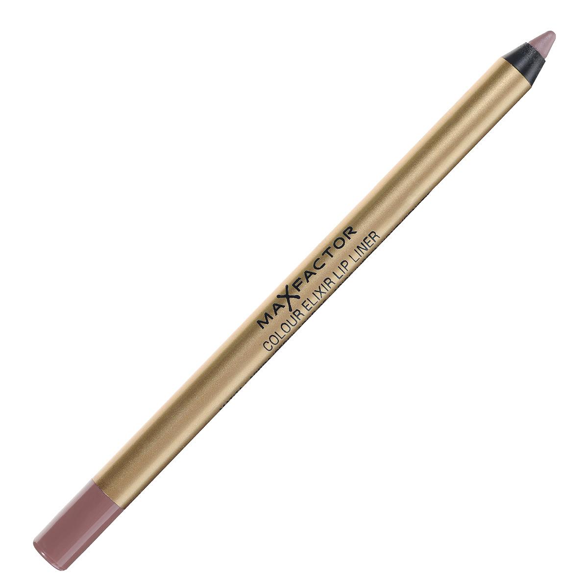 Max Factor Карандаш для губ Colour Elixir Lip Liner, тон №02 pink petal, цвет: светло-розовый111101Секрет эффектного макияжа губ - правильный карандаш. Он мягко касается губ и рисует точную линию, подчеркивая контур и одновременно ухаживая за губами. Карандаш для губ Colour Elixir подчеркивает твои губы, придавая им форму. - Роскошный цвет и увлажнение для мягких и гладких губ. - Оттенки подходят к палитре помады Colour Elixir. - Легко наносится.1. Выбирай карандаш на один тон темнее твоей помады 2. Наточи карандаш и смягчи кончик салфеткой 3. Подведи губы в уголках, дугу Купидона и середину нижней губы, затем соедини линии 4. Нанеси несколько легких штрихов на губы, чтобы помада держалась дольше.